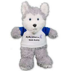Ruddly Husky Promotional Stuffed Animal