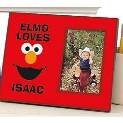 Personalized Elmo Big Face Frame