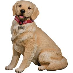 Light Golden Retriever Figurine