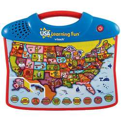 VTech USA Explore and Learn Map