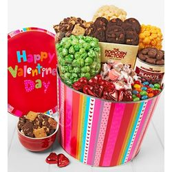 Happy Valentine's Day Snack Assortment