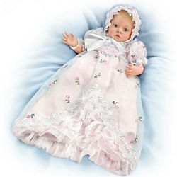 My Little Blessing Christening Baby Doll