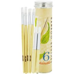 Bamboo Paint Brushes
