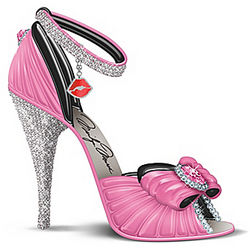 Preferable in Pink Marilyn-Inspired High Heel Figurine