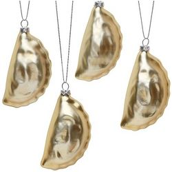Pierogi Glass Ornaments