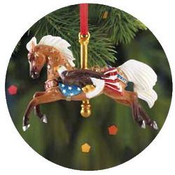 Patriot Carousel Ornament