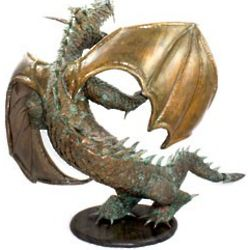Howard Dean Dragon Sculpture