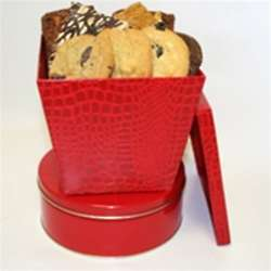 Brownies and Cookies Red Gift Box