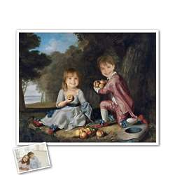 The Stewart Children Classic Painting Personalized Art Print