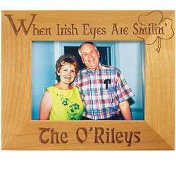 When Irish Eyes Are Smilin' Frame