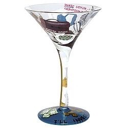 Martini Lunch Martini Glass