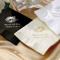 Wedding Cocktail Napkins
