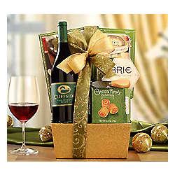 Cliffside Vineyards Syrah Wine and Snack Basket