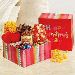 Happy Valentine's Day Snack Sampler