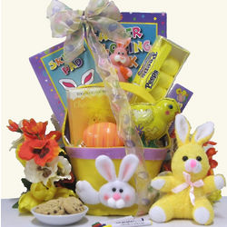 Bunnies and Chicks Oh My Gift Basket