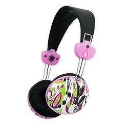 Floral Pattern Headphones