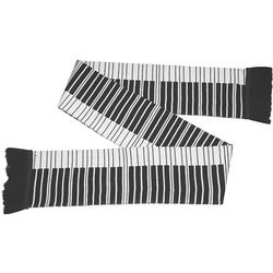 Knitting Pattern Piano Keyboard : Piano Keys Knit Scarf - FindGift.com