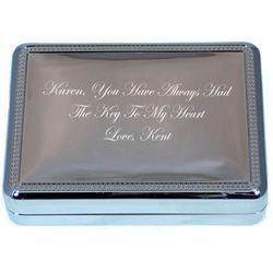 All My Heart Personalized Keepsake Box and Key