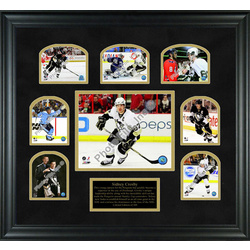 Sidney Crosby 2009 Stanley Cup Championship Framed Photos