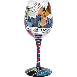 New York Wine Glass