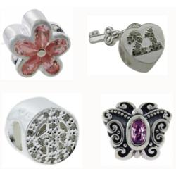 Sterling Silver CZ Select Bead