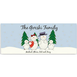 Snow Family Canvas Print