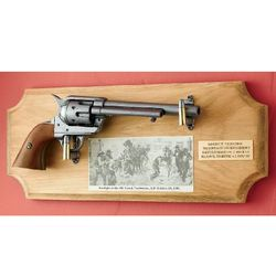 Gunfight at the OK Corral Reproduction Gun Plaque