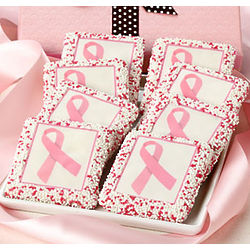 Hope and Happiness Pink Ribbon Grahams