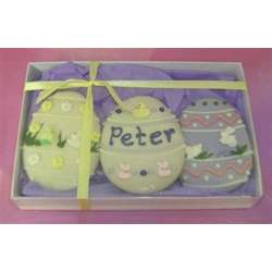 Box of Hand Decorated Easter Cookies