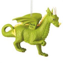 Personalized Dragon Ornament