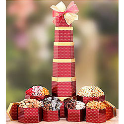 Deluxe Chocolate and Sweets Gift Tower