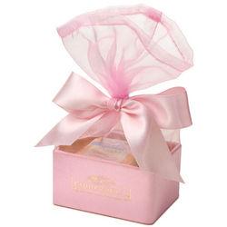 Pink Organza Chocolate Favor Box