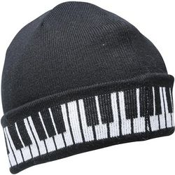 Piano Keys Knit Hat