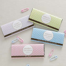 Personalized Polka Dots Candy Bar Wrappers