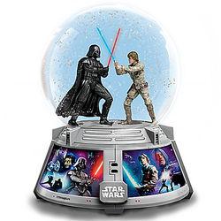 Star Wars Forces of Light & Dark Musical Glitter Globe