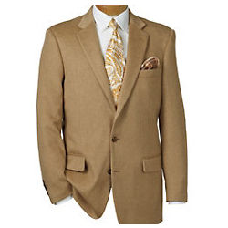 Camelhair Two-Button Sportcoat