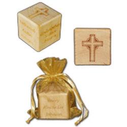 Personalized Christening Block