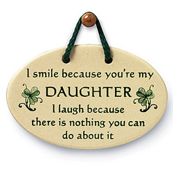 A Daughter's Plaque