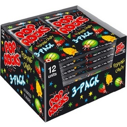 Pop Rocks 3-Pack Popping Candy 12ct