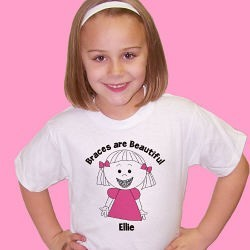 Braces Are Beautiful Youth T-Shirt
