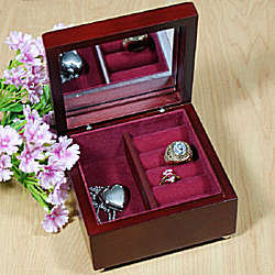 My Peace Personalized Confirmation Jewelry Box