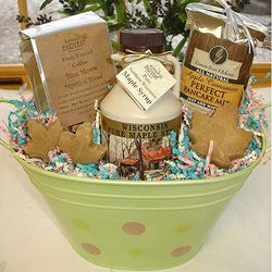 Easter Breakfast Gift Bucket