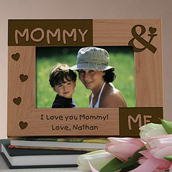 Mommy & Me Personalized Photo Frame