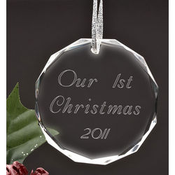 Personalized Make Your Own Circle Ornament