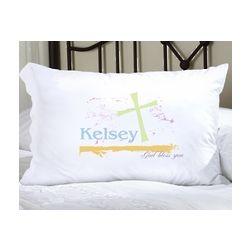 Personalized Pastel Grace Pillowcase
