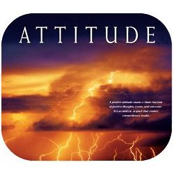 Power of Attitude Mousepad