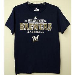 Men's Milwaukee Brewers Baseball T-Shirt