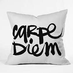 Carpe Diem Decorative Pillow