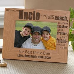 Special Uncle Personalized Photo Frame