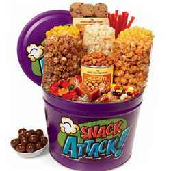 Two Gallon Snack Attack Care Package